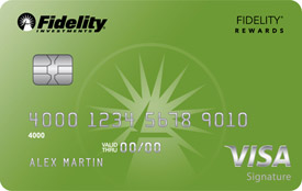 Fidelity® Rewards Visa Signature® Credit Card